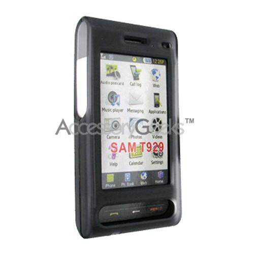 Samsung Memoir T929 Icy Hard Case - Transparent Smoke