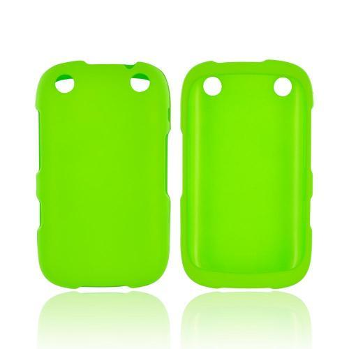 BlackBerry Curve 9310/9320 Rubberized Hard Case - Green
