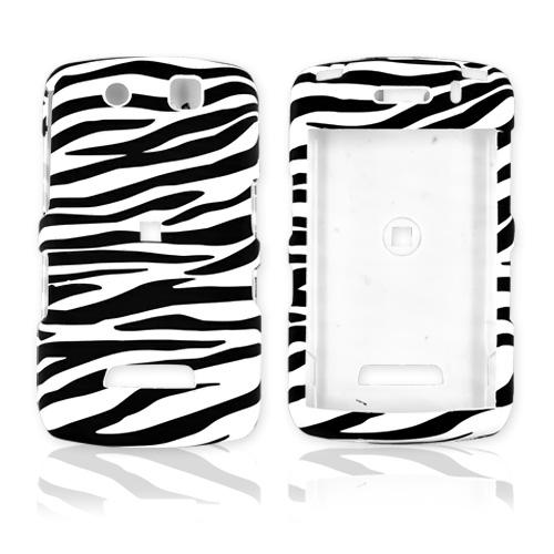 Blackberry Storm Rubberized Hard Case - Zebra
