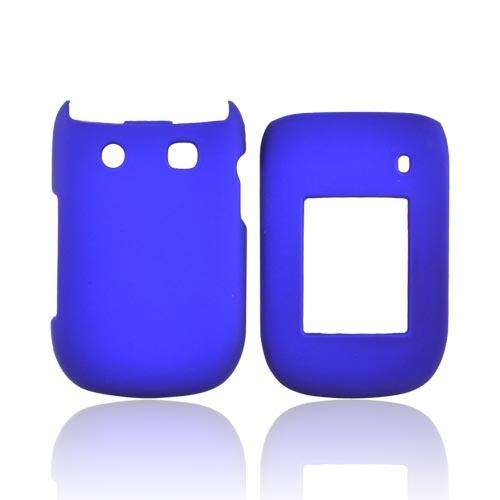 Blackberry Style 9670 Rubberized Hard Case - Blue