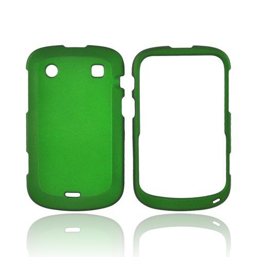 Blackberry Bold 9900, 9930 Rubberized Hard Case - Green