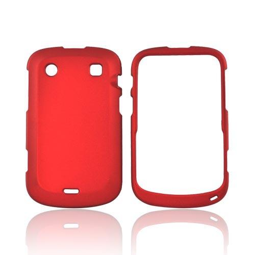 Blackberry Bold 9900, 9930 Rubberized Hard Case - Red