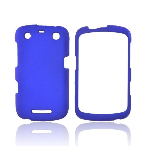 Blackberry Curve 9360/ Apollo Rubberized Hard Case - Blue