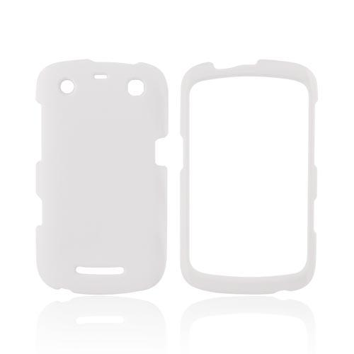 Blackberry Curve 9360/ Apollo Rubberized Hard Case - Solid White
