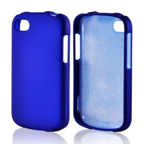 Blue Rubberized Hard Case for Blackberry Q10