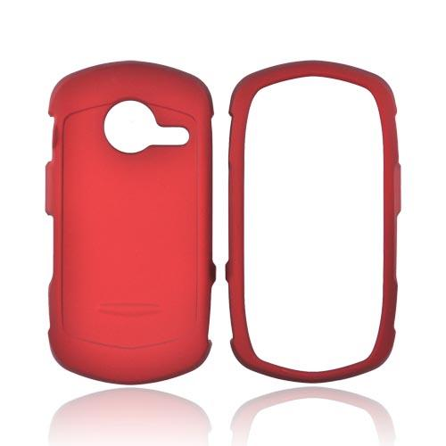 Casio G'zOne Commando C771 Rubberized Hard Case - Red
