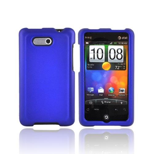 Luxmo HTC Aria Rubberized Hard Case - Blue
