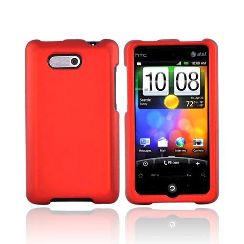 Luxmo HTC Aria Rubberized Hard Case - Orange