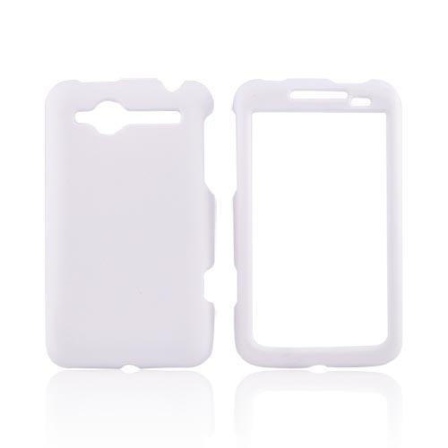 HTC Bee/Wildfire Rubberized Hard Case - White