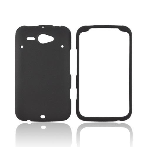 HTC Status Rubberized Hard Case - Black