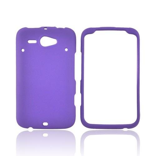 HTC Status Rubberized Hard Case - Purple
