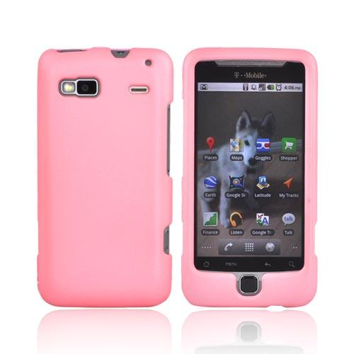 T-Mobile G2 Rubberized Hard Case - Baby Pink