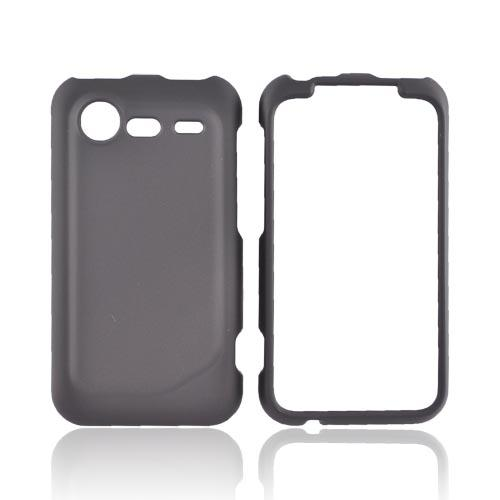 HTC Droid Incredible 2 Rubberized Hard Case - Black