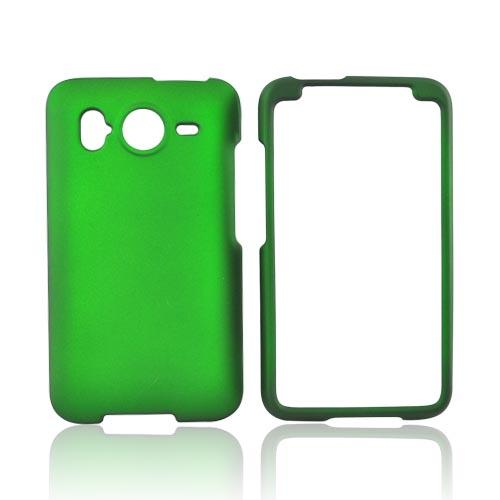 HTC Inspire 4G Rubberized Hard Case - Green