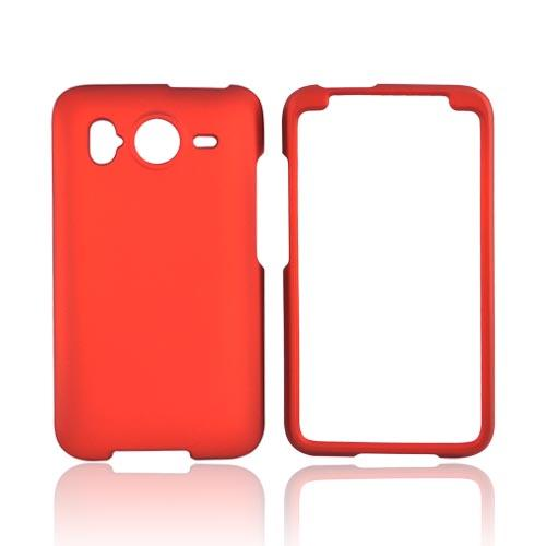 HTC Inspire 4G Rubberized Hard Case - Orange
