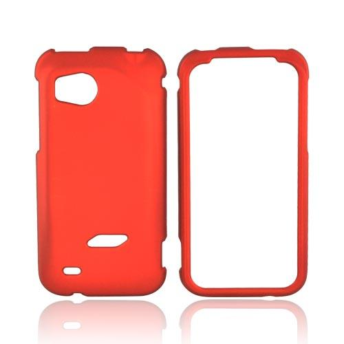HTC Rezound Rubberized Hard Case - Orange