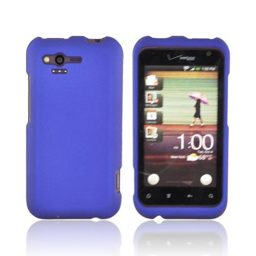 HTC Rhyme Rubberized Hard Case - Blue