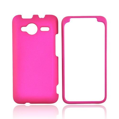 HTC EVO Shift 4G Rubberized Hard Case - Hot Pink