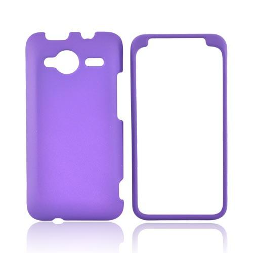 HTC EVO Shift 4G Rubberized Hard Case - Purple