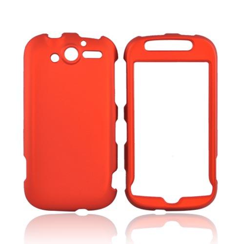 T-Mobile MyTouch 4G Rubberized Hard Case - Orange