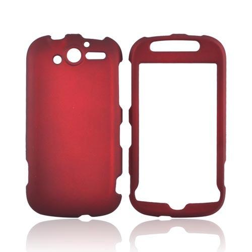 T-Mobile MyTouch 4G Rubberized Hard Case - Red