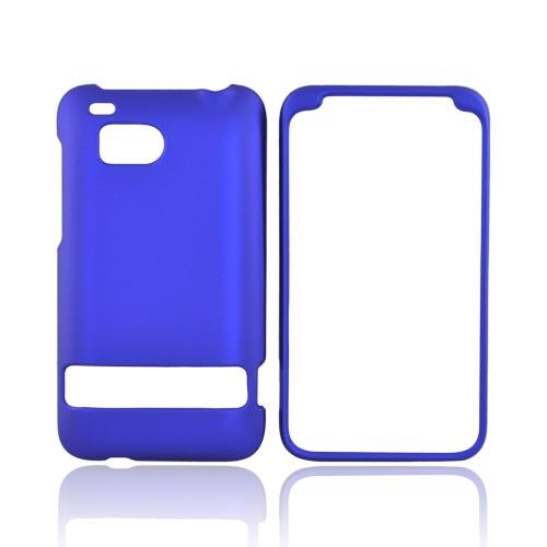 HTC Thunderbolt Rubberized Hard Case - Blue