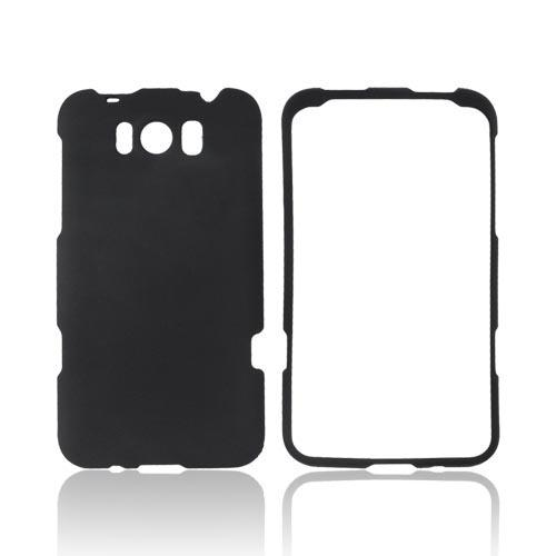 HTC Titan Rubberized Hard Case - Black