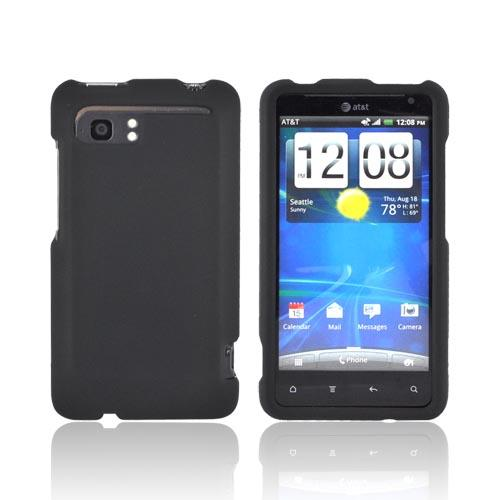 HTC Vivid Rubberized Hard Case - Black