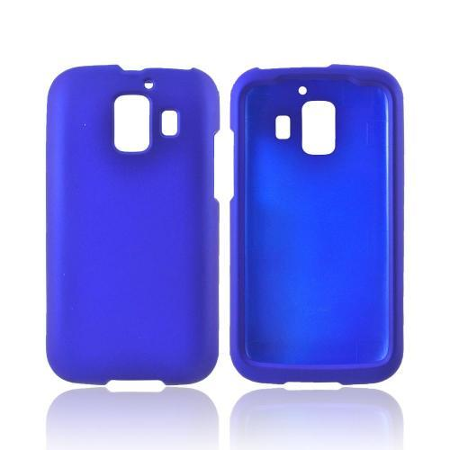 AT&T Huawei Fusion 2 U8665 Rubberized Hard Case - Blue