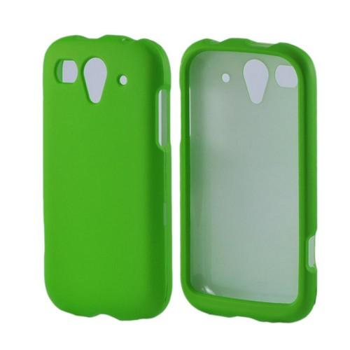 T-Mobile Huawei myTouch 2 Rubberized Hard Case - Neon Green