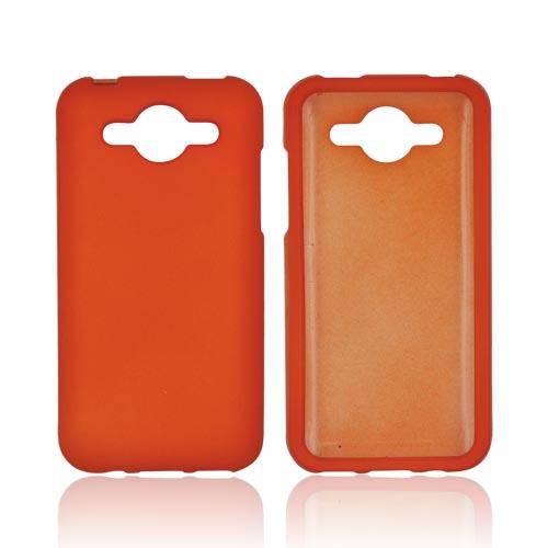 Huawei Mercury M866 Rubberized Hard Case - Orange