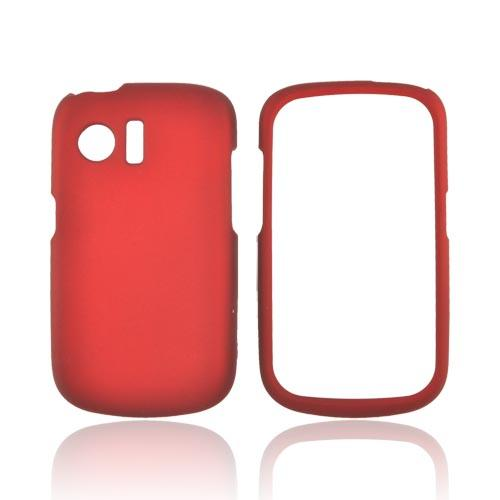 Huawei Pinnacle M635 Rubberized Hard Case - Red