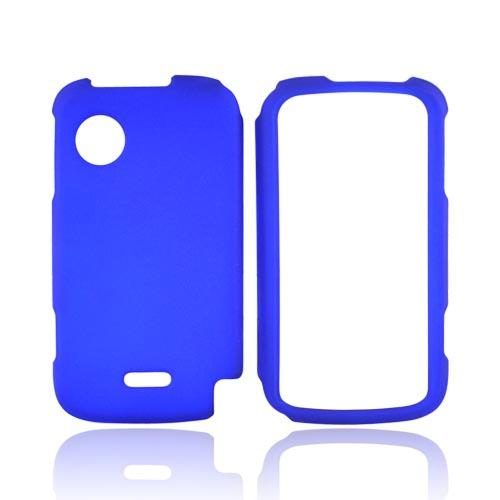 Huawei M735 Rubberized Hard Case - Blue