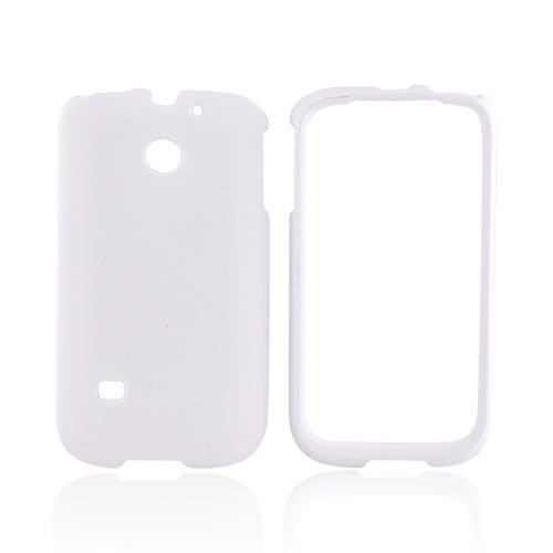 Huawei Ascend 2/ Prism/ Summit M865 Rubberized Hard Case - Solid White