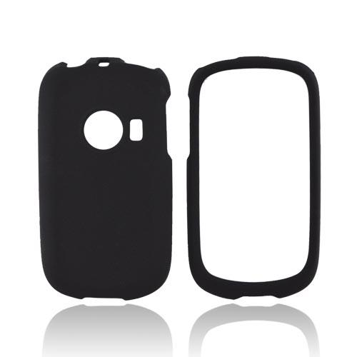 Huawei M835 Rubberized Hard Case - Black