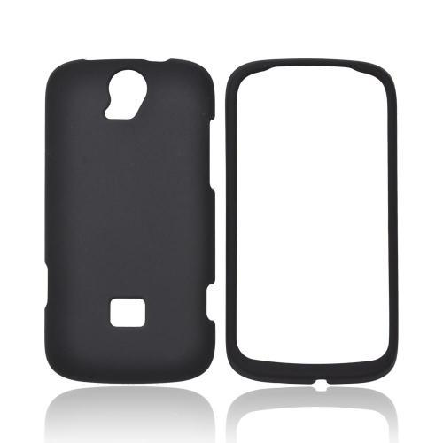 T-Mobile Huawei myTouch Q 2 Rubberized Hard Case - Black