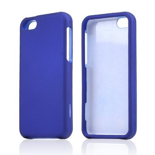 Blue Rubberized Hard Case for Apple iPhone 5C