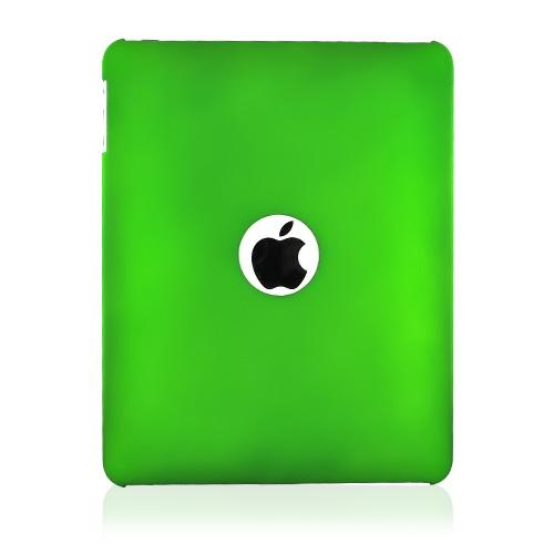 Apple iPad (1st Gen) 1st Rubberized Hard Case - Green