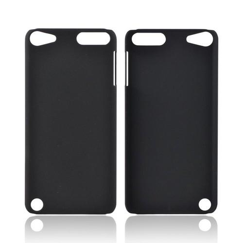Apple iPod Touch 5 Rubberized Hard Case - Black