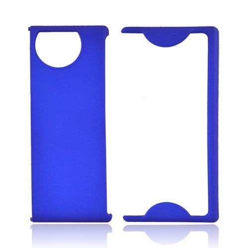 Kyocera Echo M9300 Rubberized Hard Case - Blue