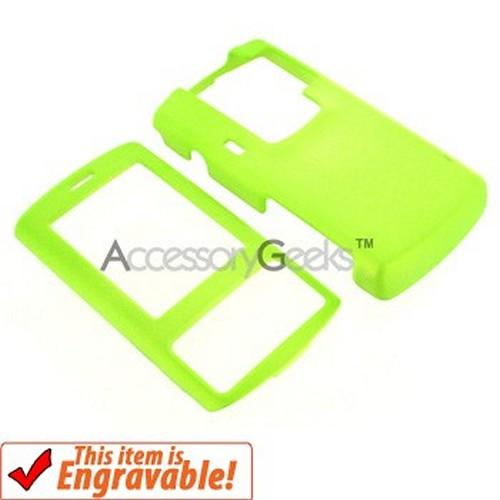 LG Decoy Rubberized Protective Hard Case - Neon Green
