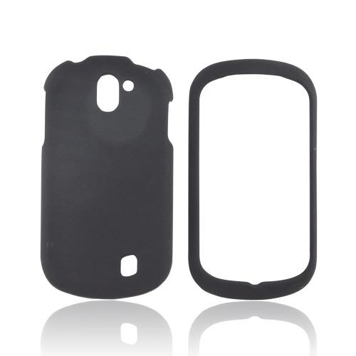 LG Doubleplay Rubberized Hard Case - Black