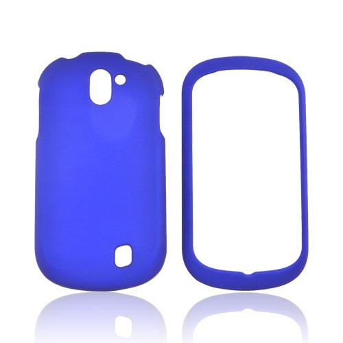 LG Doubleplay Rubberized Hard Case - Blue