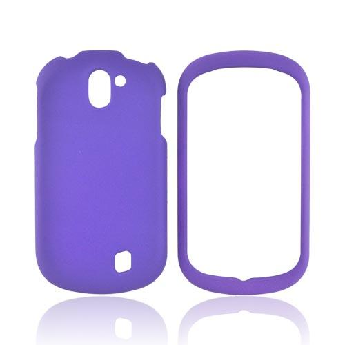 LG Doubleplay Rubberized Hard Case - Purple