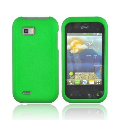 T-Mobile MyTouch Q Rubberized Hard Case - Green