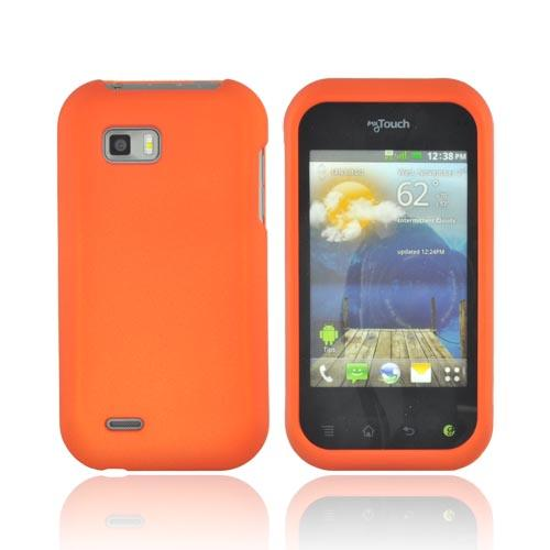 T-Mobile MyTouch Q Rubberized Hard Case - Orange