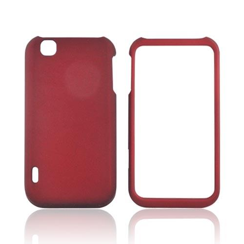 T-Mobile MyTouch Rubberized Hard Case - Red