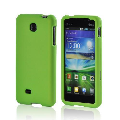 LG Escape Rubberized Hard Case - Neon Green