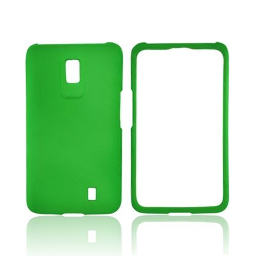 LG Spectrum Rubberized Hard Case - Neon Green