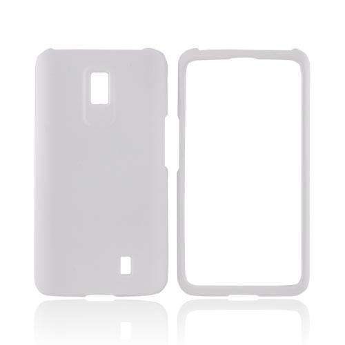 LG Spectrum Rubberized Hard Case - Solid White
